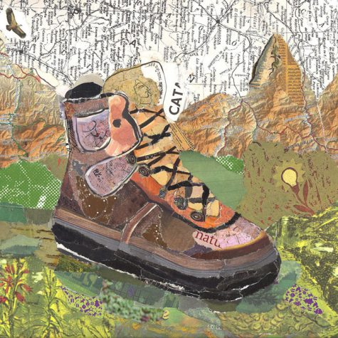 My boots are made for trekking